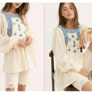 Free people Bali birdie top new 🌟🌟